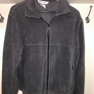 Columbia zip up fleece size med